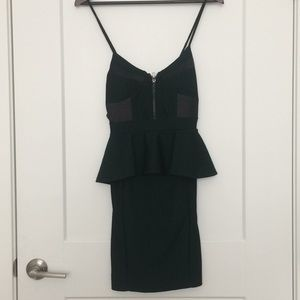 Arden green emerald dress